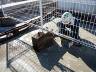屋上フェンス基礎下地樹脂