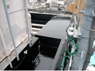 改質アスファルト防水ARケミアス防水完了